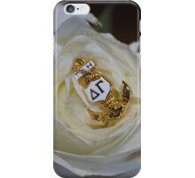 Delta Gamma Pin iPhone Case/Skin