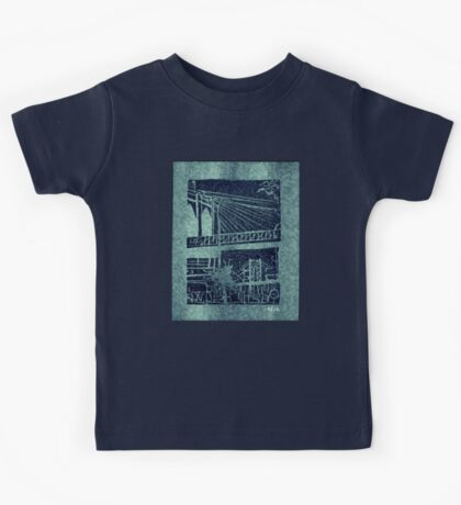 brooklyn and manhattan bridges Kids Tee