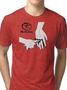 Big Black - Heartbeat/Headache White print Tri-blend T-Shirt