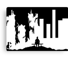 War is Hell V Canvas Print