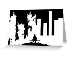 War is Hell V Greeting Card