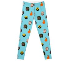 Super Best Friends collage Leggings