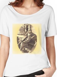 Pretty Vintage girl model photo, Queensland, Women's Relaxed Fit T-Shirt
