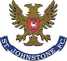 St Johnstone FC Badge -Scottish Premier League Photographic Print