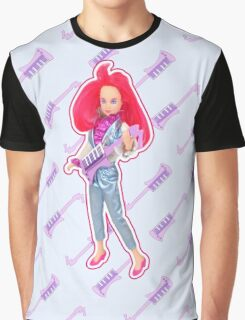I am a Red Hologram Graphic T-Shirt
