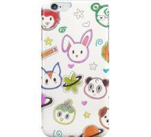 Chibi animals  iPhone Case/Skin