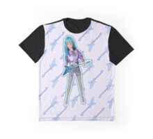 I am a Blue Hologram Graphic T-Shirt