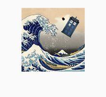 TARDIS at Kanagawa Unisex T-Shirt