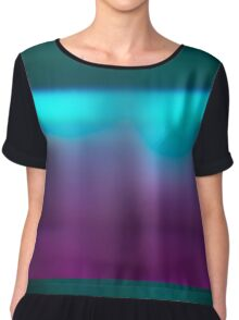 Abstract blur background Chiffon Top