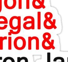LeBron ''the dragon'' Sticker