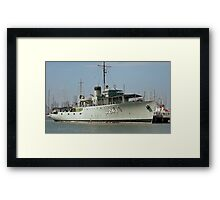 WWII Minesweeper Framed Print