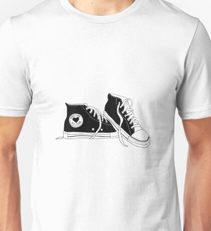 pro-life all star shoes Unisex T-Shirt