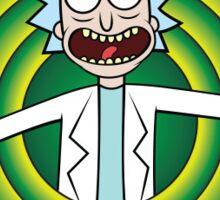Rick and Morty Peace Among Worlds Sticker