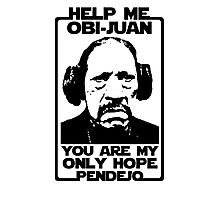 Help me Obi-Juan, you are my only hope pendejo Photographic Print