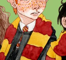 Magical Students from Hogwarts Sticker