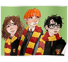 Magical Students from Hogwarts Poster