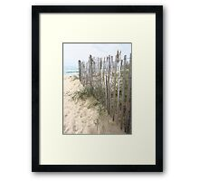 Dune Creeper Framed Print