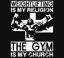 Weightlifting Is My Religion (Jesus) Unisex T-Shirt