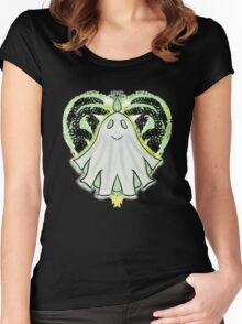 Haunted Heart Women's Fitted Scoop T-Shirt