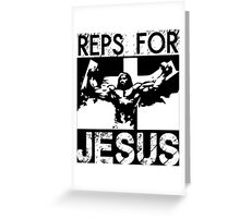 Reps For Jesus Greeting Card