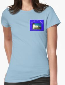 Circle Drive-In Theater Womens Fitted T-Shirt
