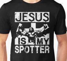 Jesus Is My Spotter Unisex T-Shirt