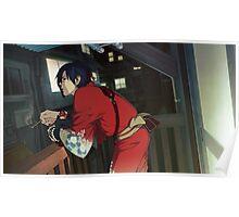 Koujaku DRAMAtical Murder balcony scene Poster Poster