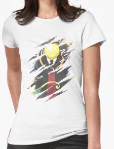 Korosensei Assassination Classroom Womens Fitted T-Shirt