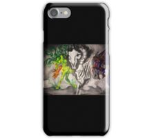 The Horsemen (graffiti inspired) iPhone Case/Skin