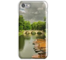 Cambridge Canoes iPhone Case/Skin