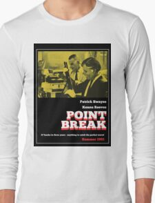 Point Break - 70s Grindhouse style Long Sleeve T-Shirt