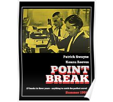 Point Break - 70s Grindhouse style Poster