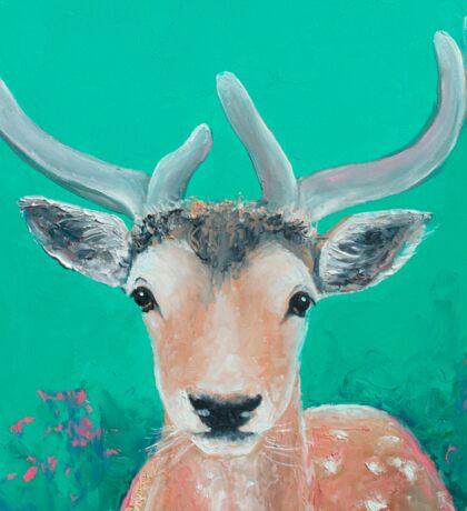 Reindeer for Christmas Sticker