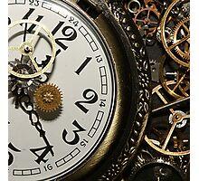 Steampunk Clocks Photographic Print