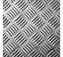 "Metallic, Metal, Steel Plate ""Simulated""  Photographic Print"