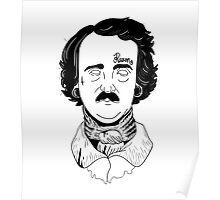 "Edgar Allan ""Hardcore"" Poe Poster"
