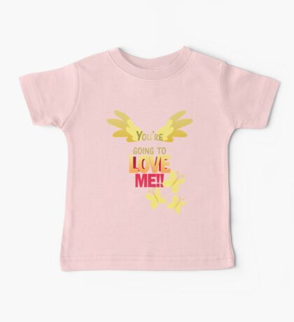 Quotes and quips - LOVE ME!! Baby Tee