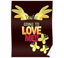 Quotes and quips - LOVE ME!! Poster