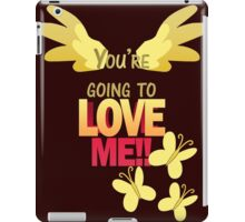 Quotes and quips - LOVE ME!! iPad Case/Skin