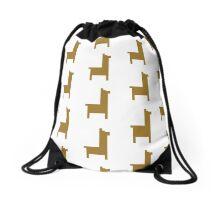 Pixel Llama Drawstring Bag