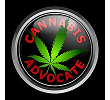 Cannabis Advocate - End The War on Drugs Photographic Print