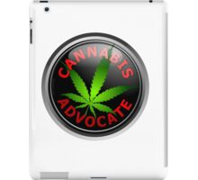 Cannabis Advocate - End The War on Drugs iPad Case/Skin