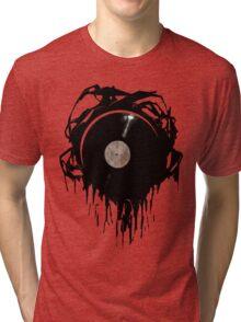 DISTORTED SOUND (RIM) Tri-blend T-Shirt