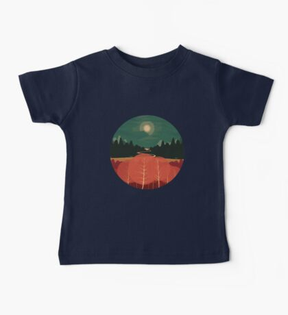 Midday Mountains Baby Tee