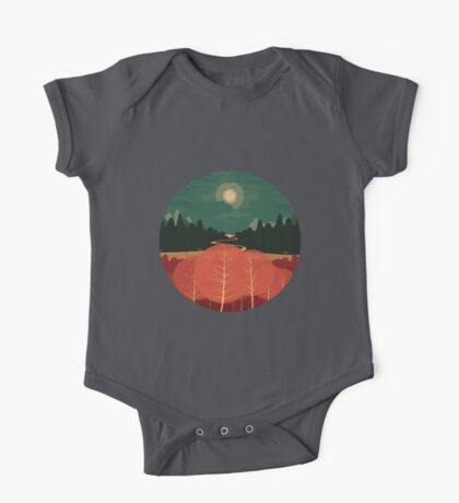 Midday Mountains One Piece - Short Sleeve