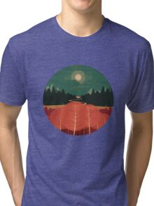 Midday Mountains Tri-blend T-Shirt
