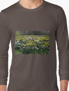 Altered Daffodils Long Sleeve T-Shirt