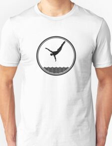 Mens Diving Unisex T-Shirt