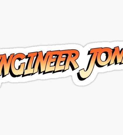 Engineer Jones Sticker