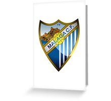 Malaga CF Badge 2016 Greeting Card